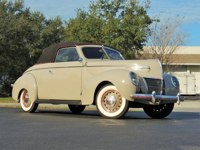 1939 MERCURY CONVERTIBLE