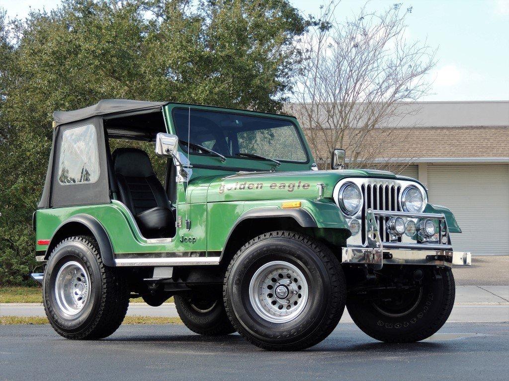 1980 jeep cj5 golden eagle