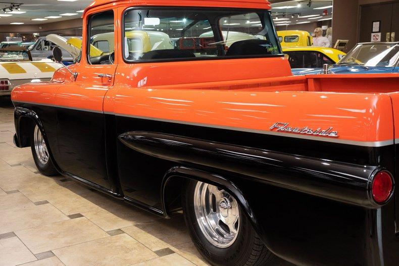 1958 chevrolet 3100 apache restomod