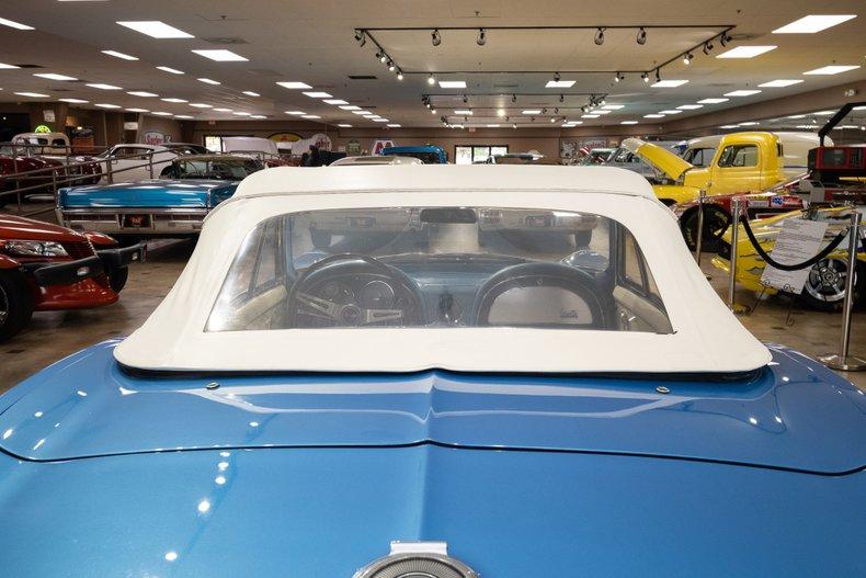 1966 chevrolet corvette both tops
