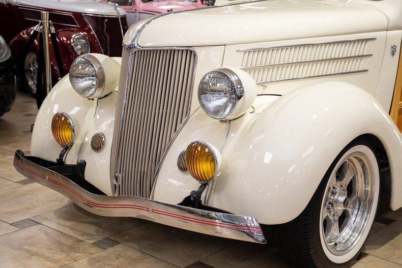 1936 ford model 48 woodie restomod all steel
