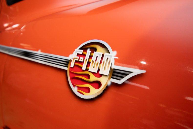 1956 ford f100 restomod