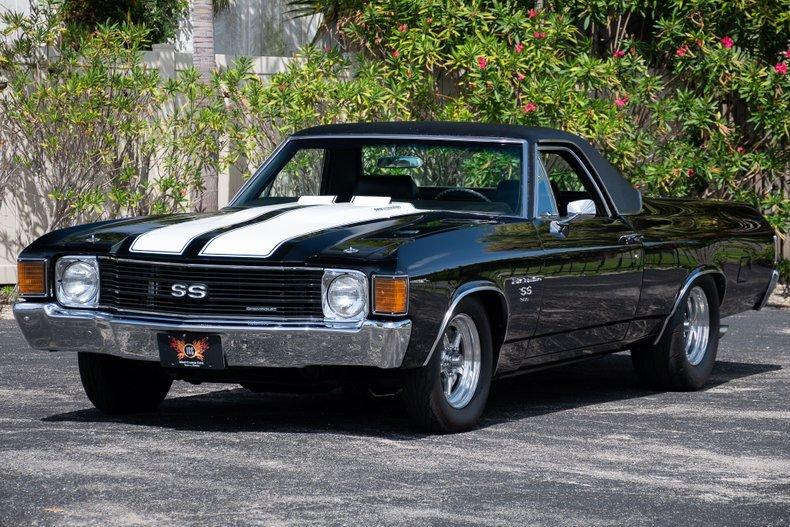 1972 chevrolet el camino big block 4 speed