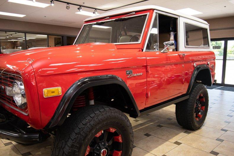 1975 ford bronco restomod