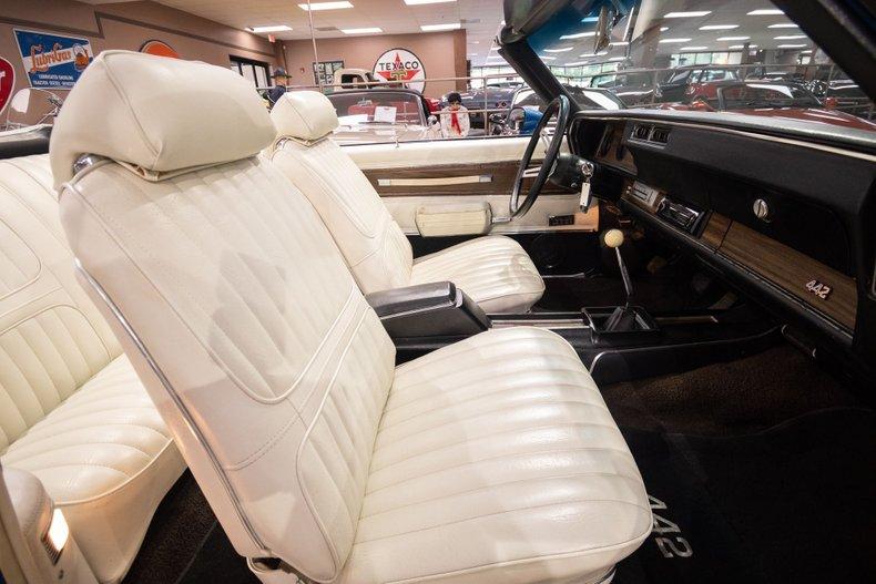 1972 oldsmobile 442 convertible