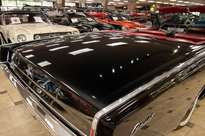 1966 lincoln continental convertible