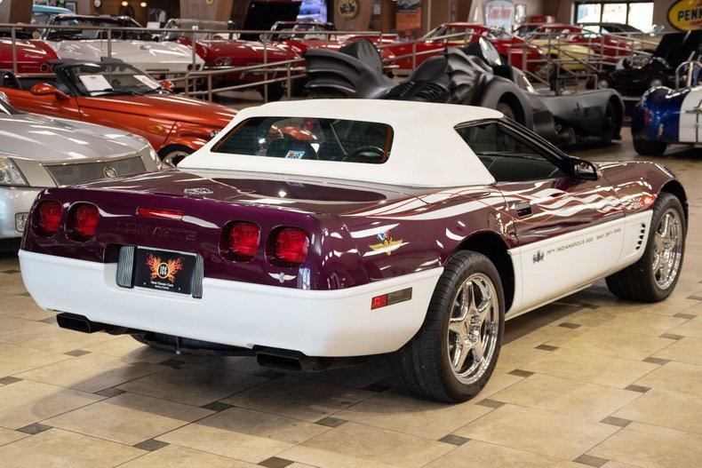 1995 chevrolet corvette pace car edition 487 of 527