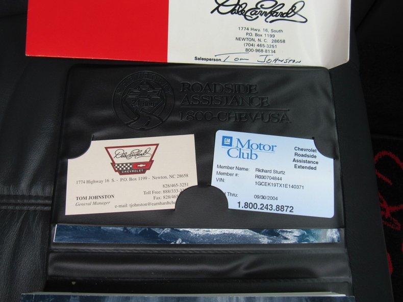 2001 chevrolet silverado dale earnhardt edition