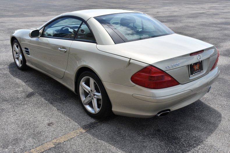 2003 mercedes sl 500