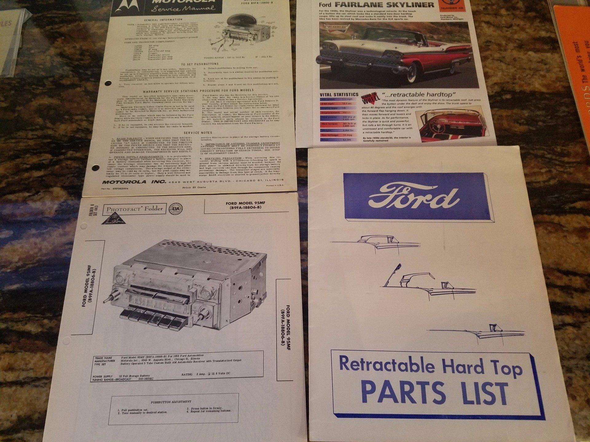 1959 Ford Galaxie Skyliner | Ideal Classic Cars LLC