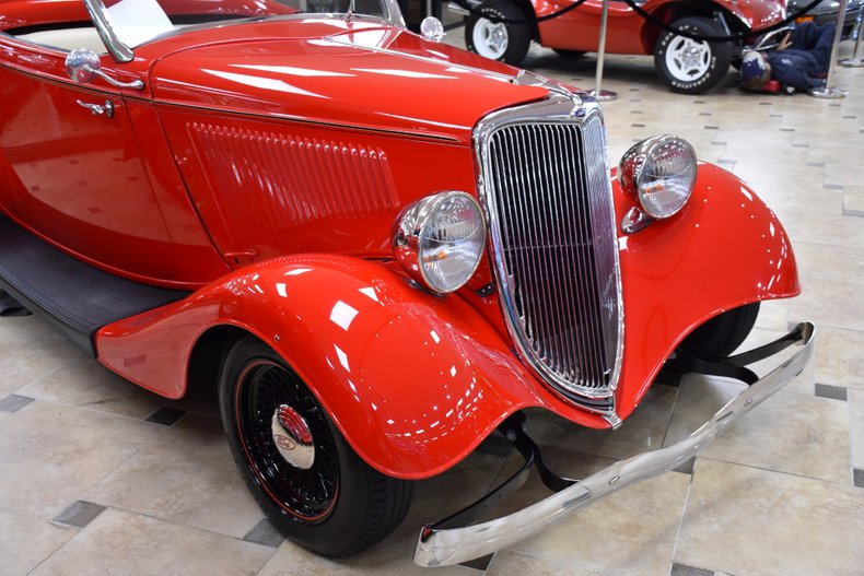 1934 ford cabriolet all steel body