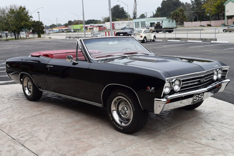 1967 chevrolet chevelle convertible
