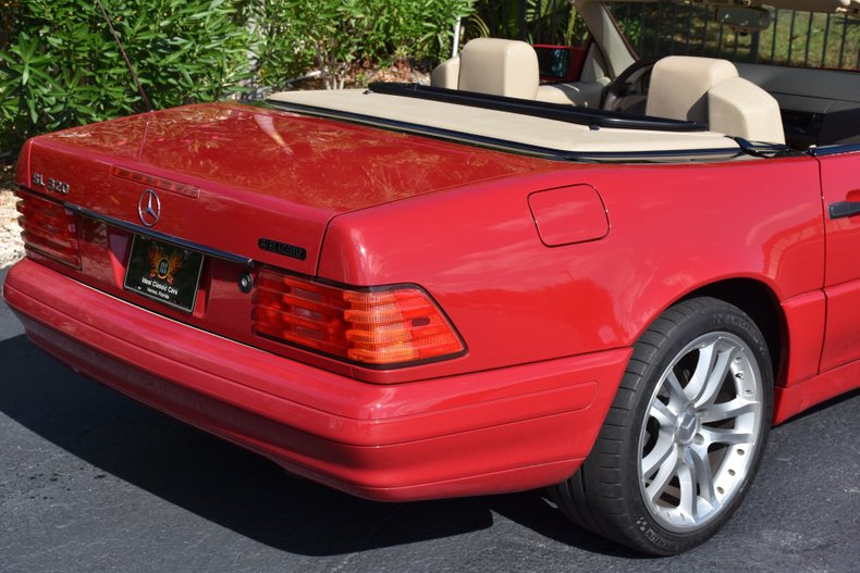 1996 mercedes sl320 roadster
