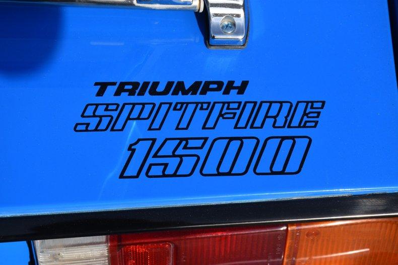 1980 triumph spitfire