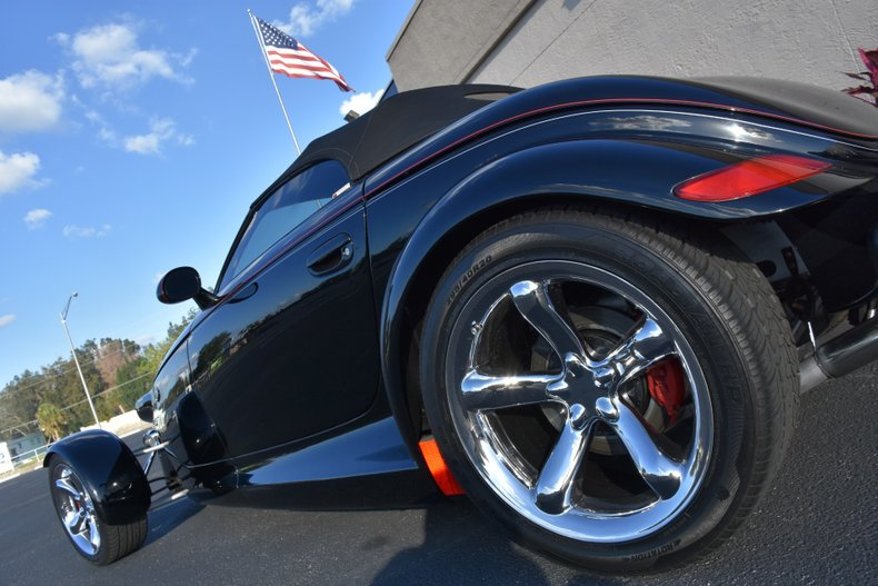 1999 plymouth prowler black diamond edition