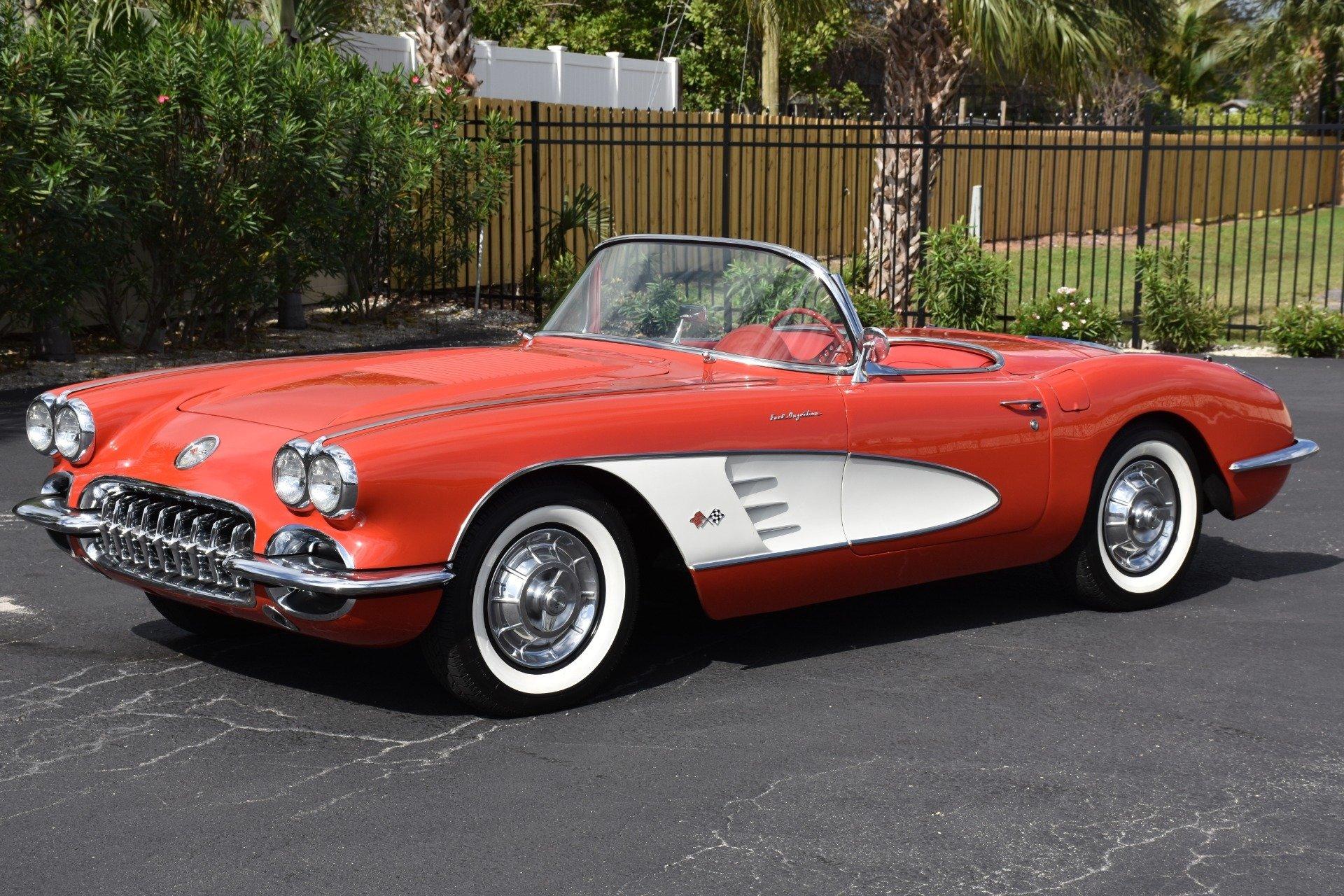 Kekurangan Corvette 1958 Top Model Tahun Ini