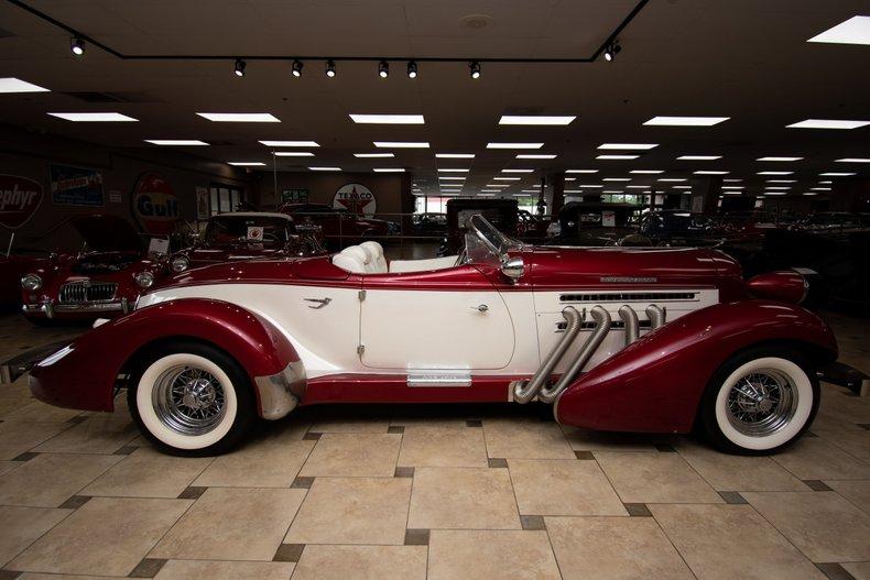 1936 auburn boattail speedster supercharged