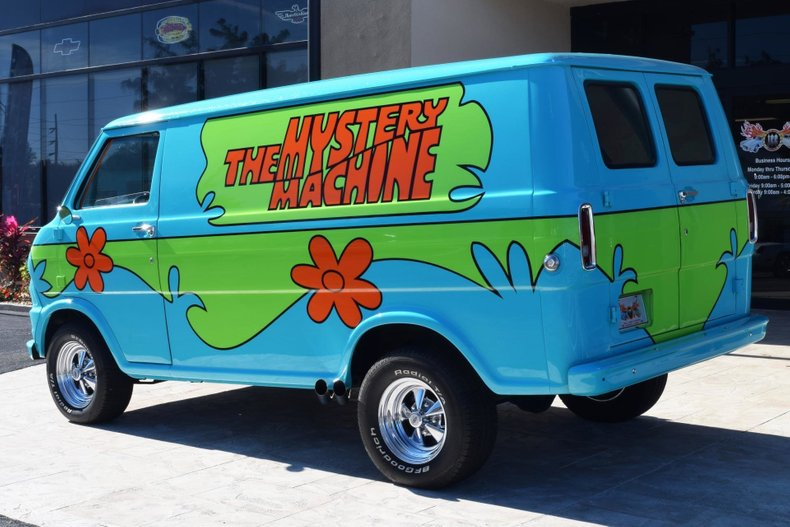 1972 z movie car scooby doo mystery machine