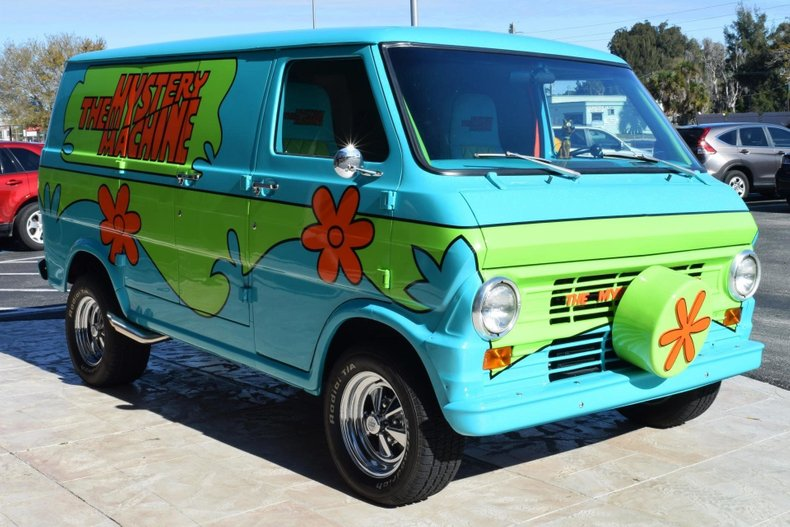 1972 ford econoline e200 scooby doo mystery machine