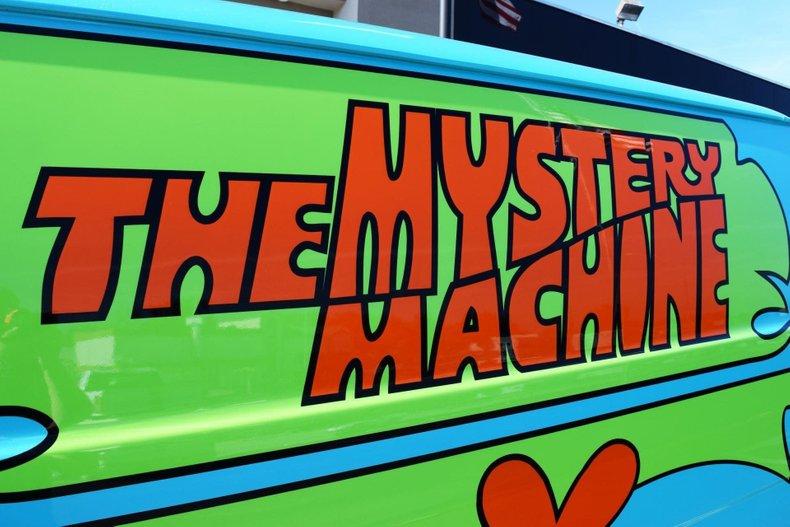 1972 ford econoline e200 scooby doo mystery machine