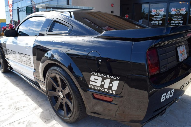 2005 z movie car transformers barricade saleen mustang