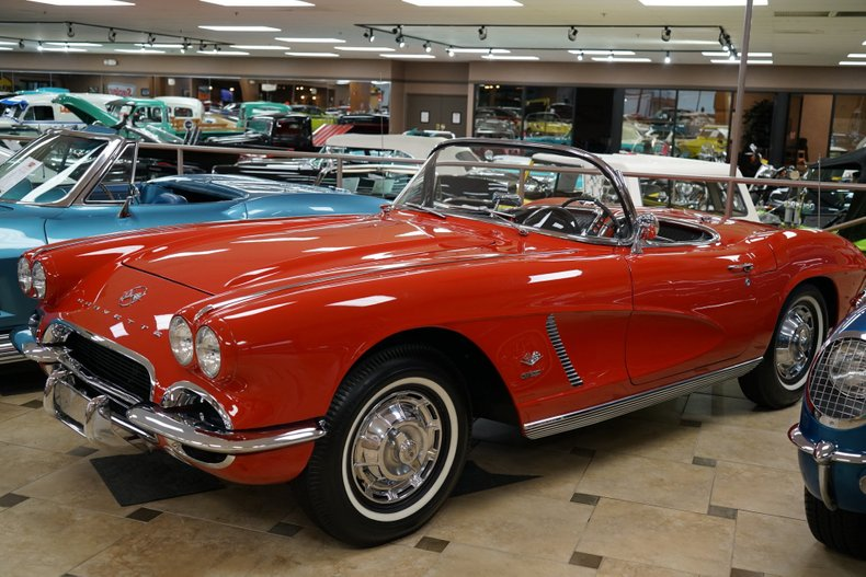 1962 chevrolet corvette fuelie