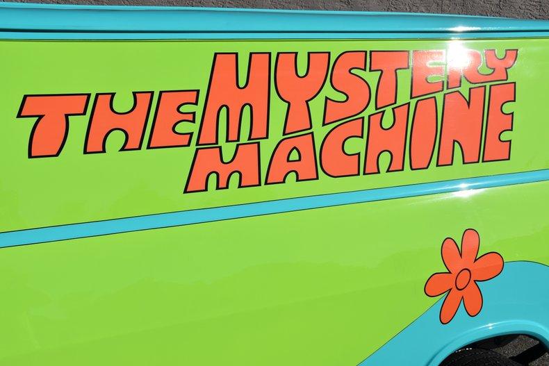 1969 z movie car scooby doo mystery machine