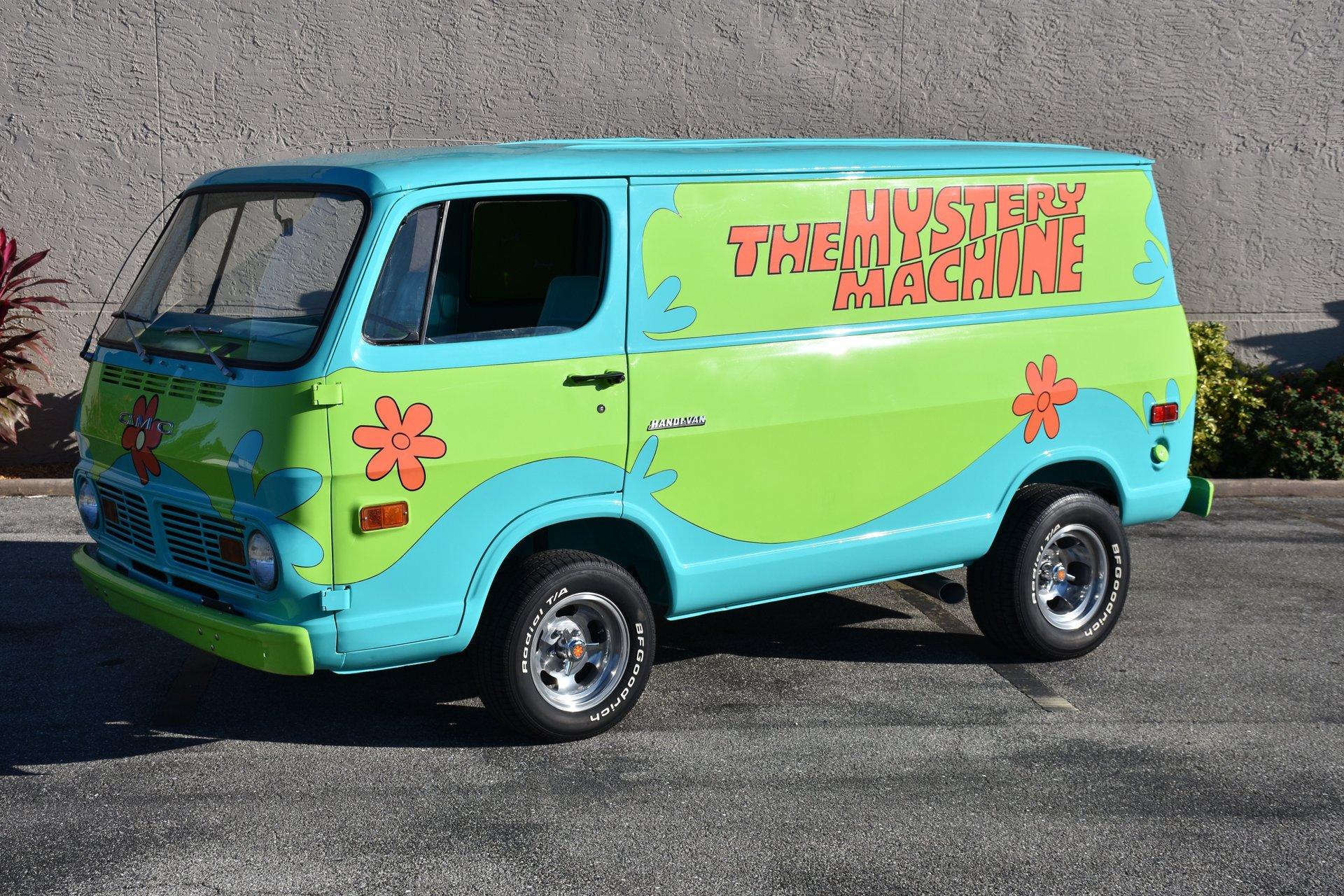 1969 gmc handi van scooby doo mystery machine