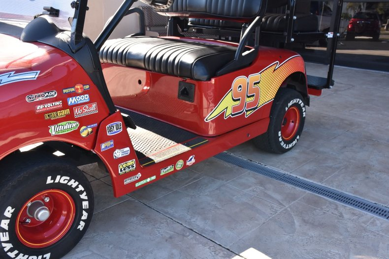 2014 z lightning mcqueen ez go rxv golf cart