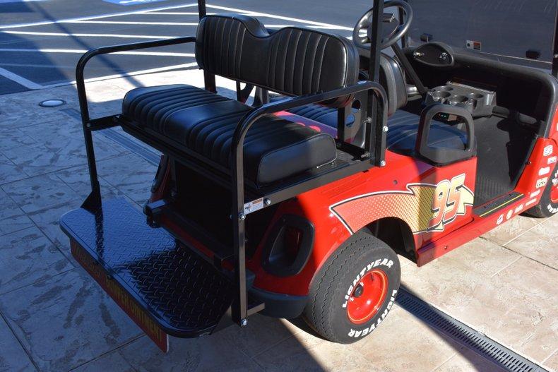 2013 z lightning mcqueen ez go rxv golf cart