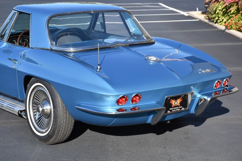 1965 chevrolet corvette fuelie