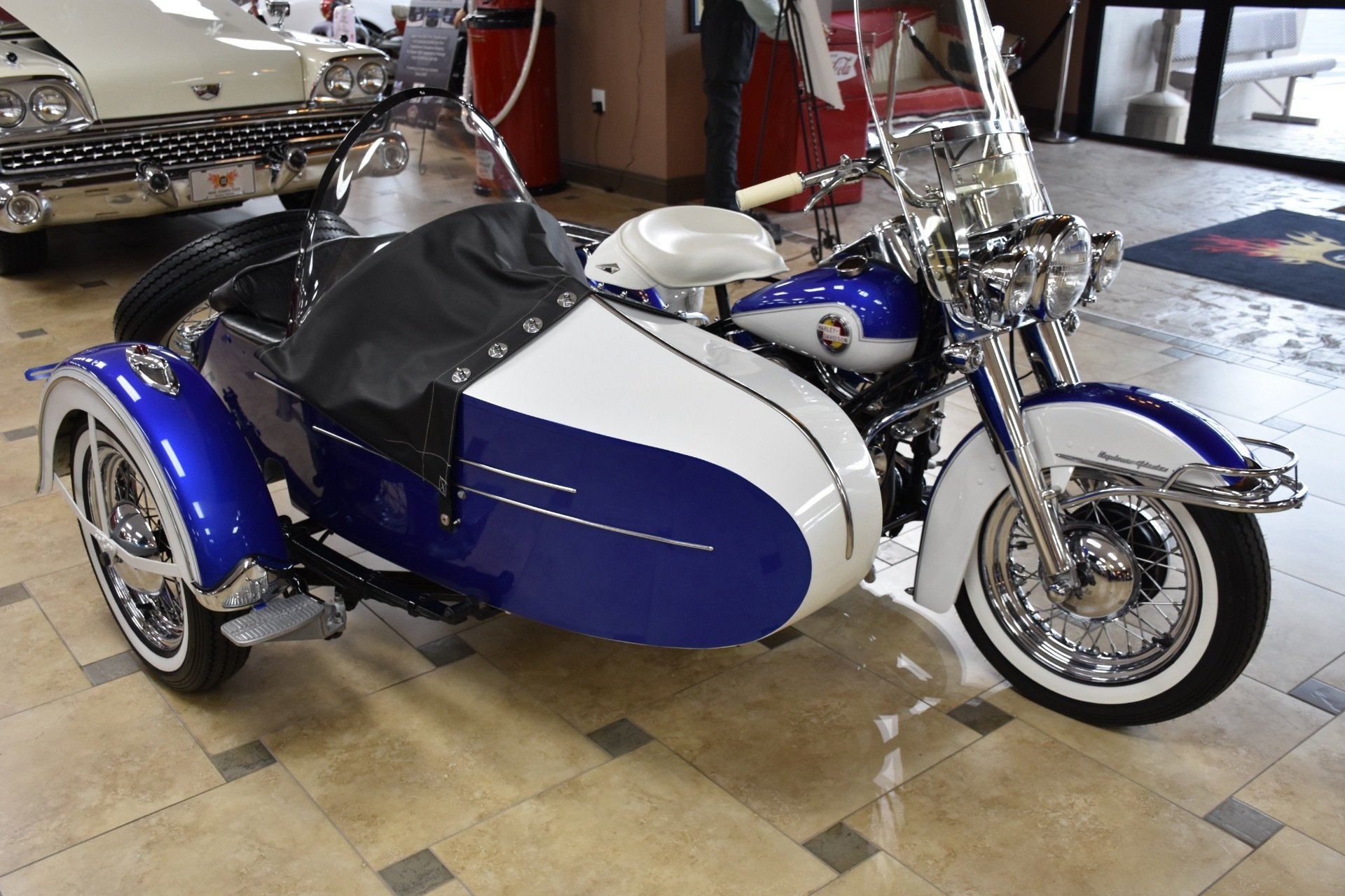 1957 Harley Davidson FLH | Ideal Classic Cars LLC