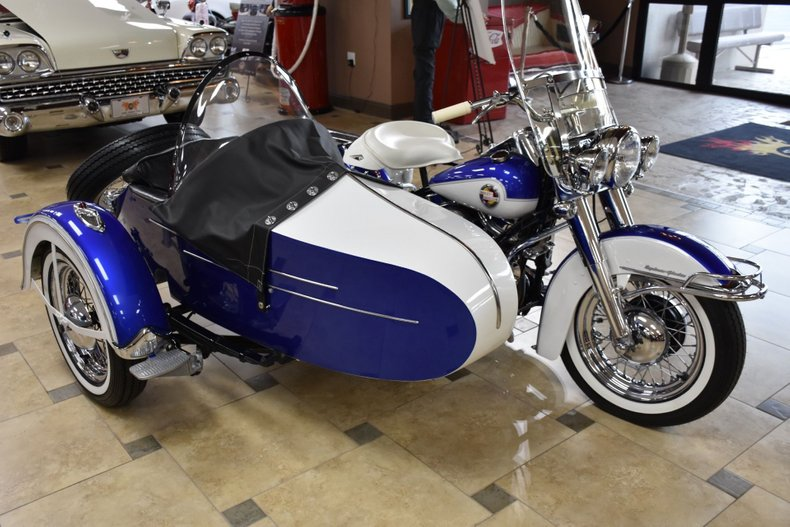 1957 harley davidson flh sidecar