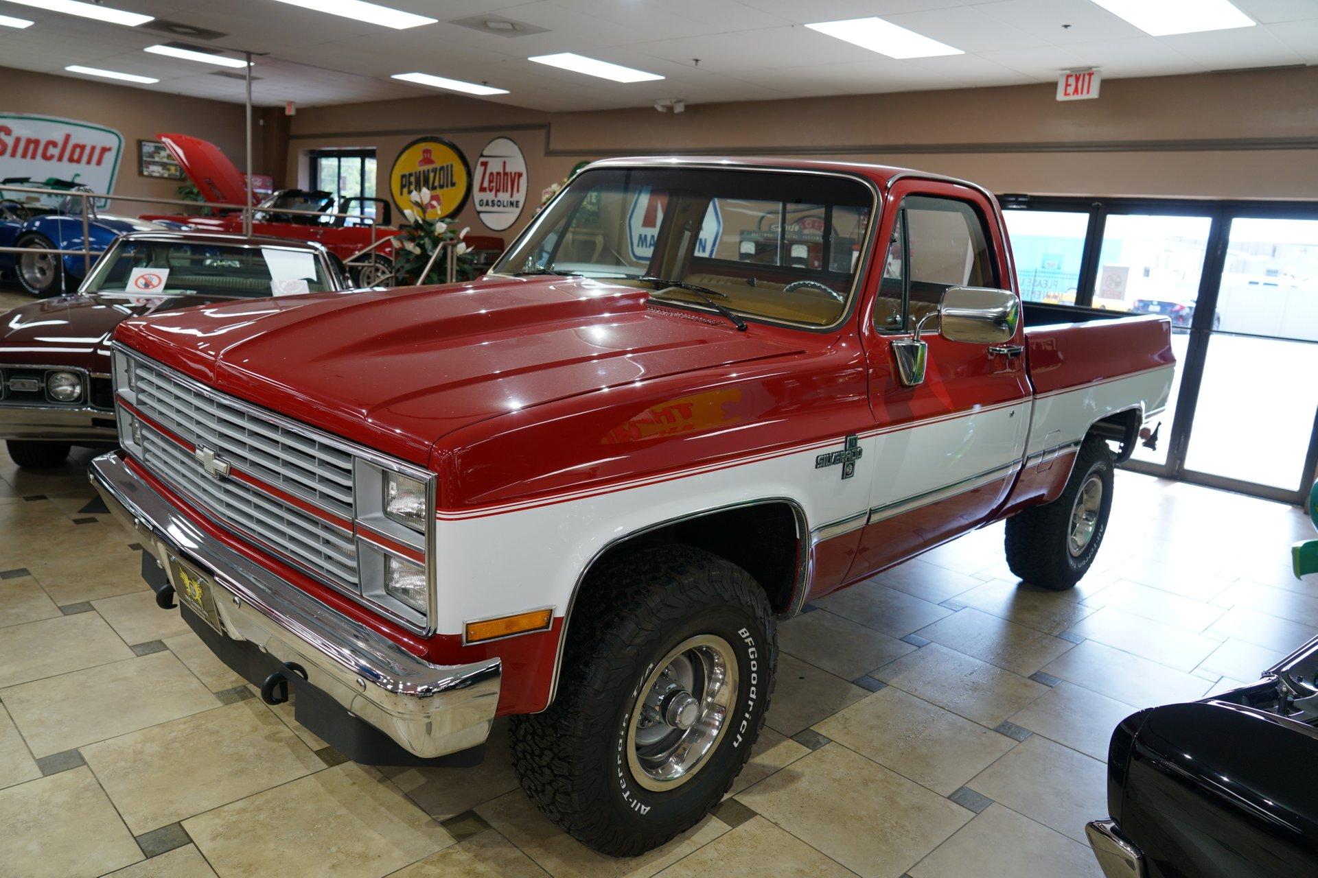 1984 chevrolet k10 silverado