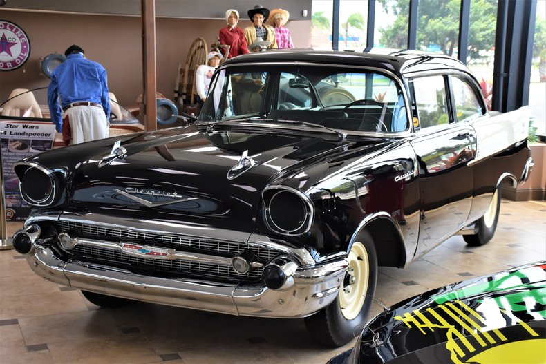 1957 chevrolet 150 black widow