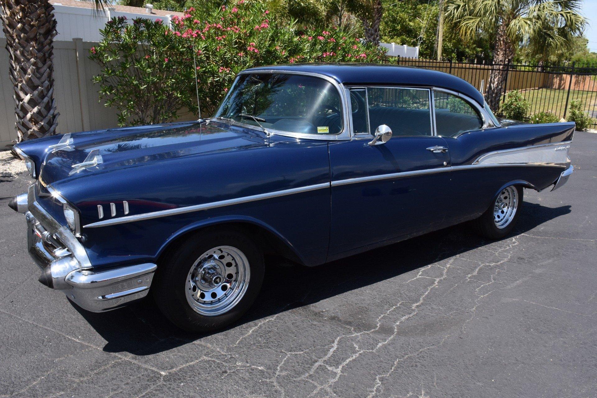 Bel Air Car >> 1957 Chevrolet Bel Air Ideal Classic Cars Llc