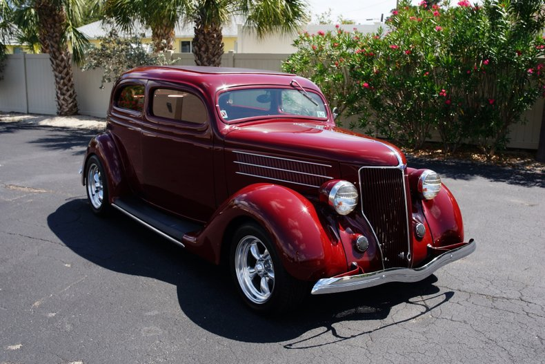 1936 ford sedan hot rod