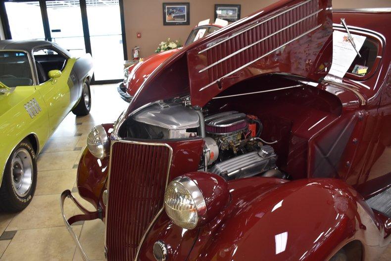 1936 ford sedan hot rod