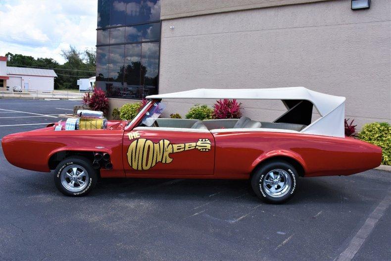 1967 z movie car monkees mobile pontiac gto