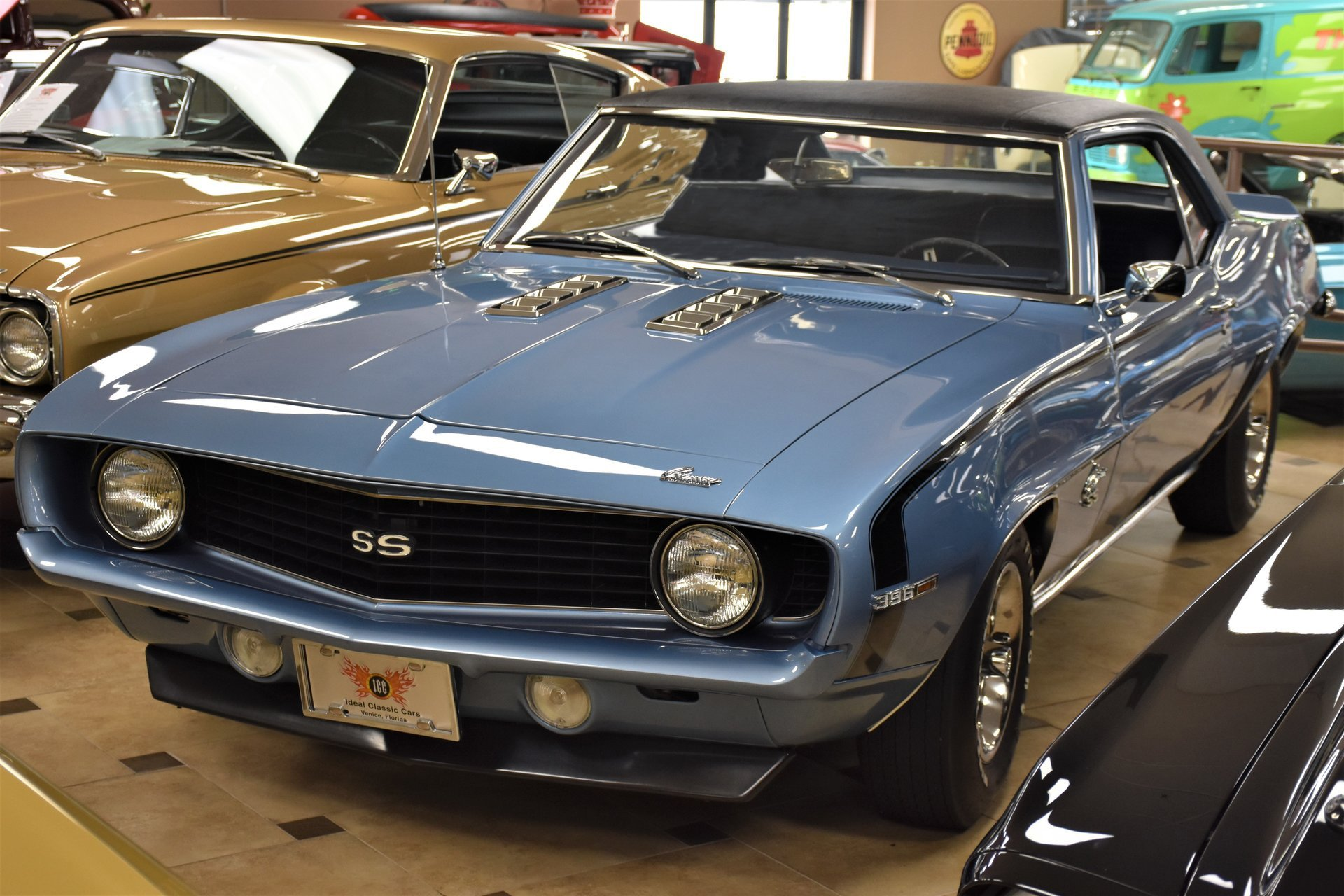 1969 Chevrolet Camaro Ideal Classic Cars Llc