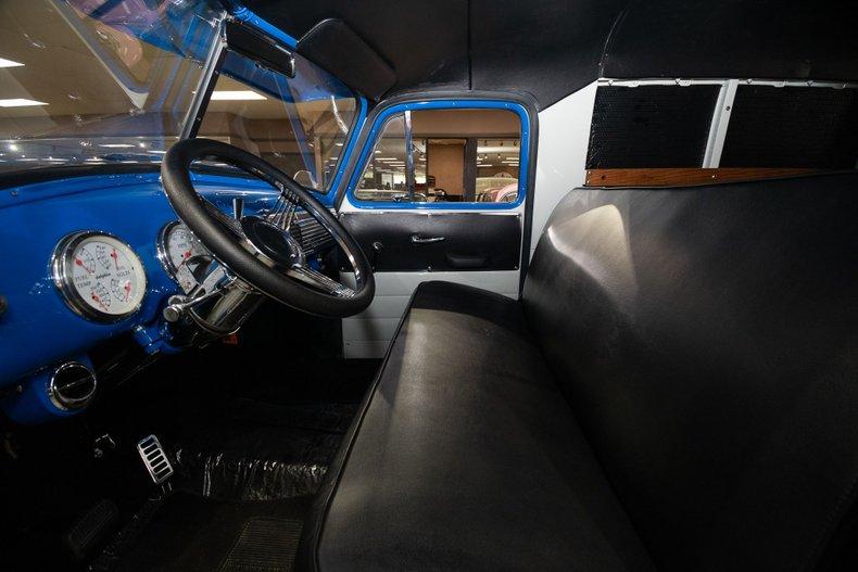 1953 gmc 100 panel truck restomod