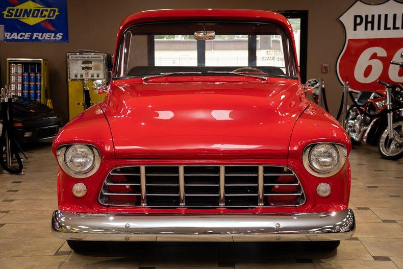 1956 chevrolet 3100 restomod fuel injected