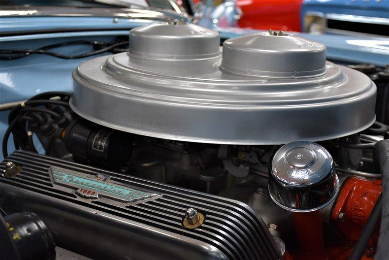 1957 ford thunderbird e code