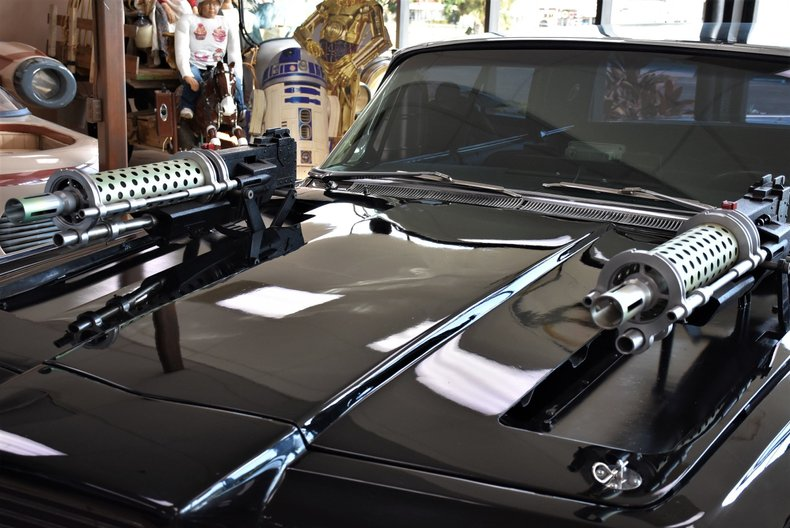 1966 chrysler imperial black beauty stunt car