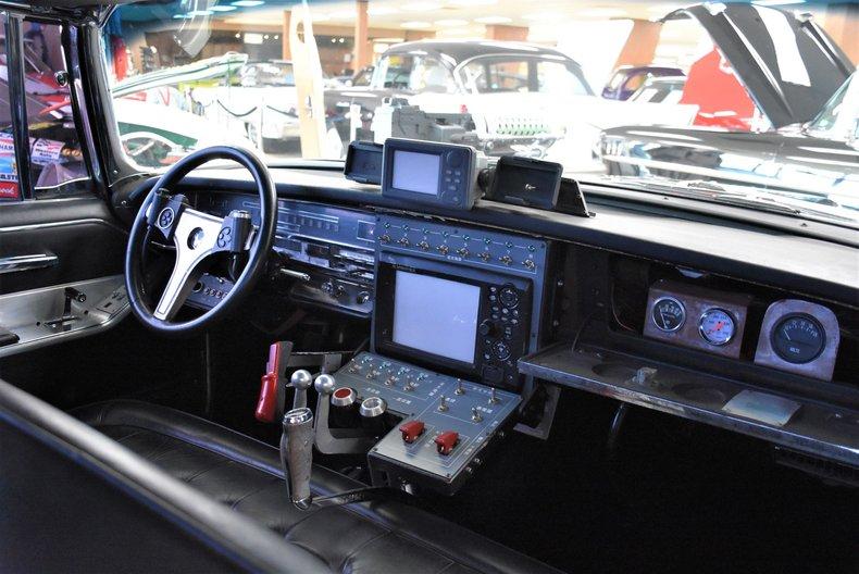 1966 chrysler imperial black beauty stunt car