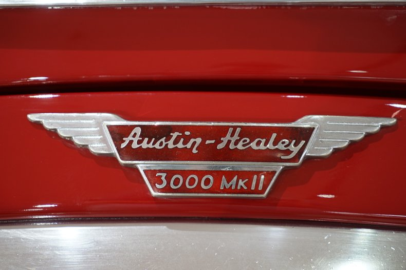 1963 Austin-Healey 3000 6
