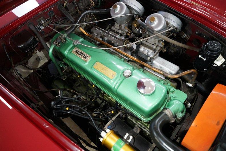 1963 Austin-Healey 3000 15