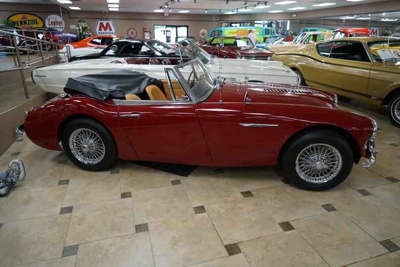 1963 Austin-Healey 3000 4