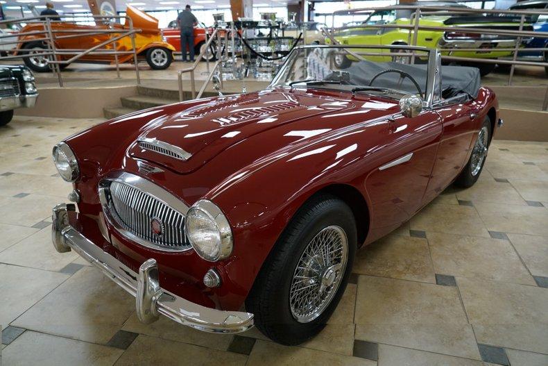 1963 Austin-Healey 3000 5