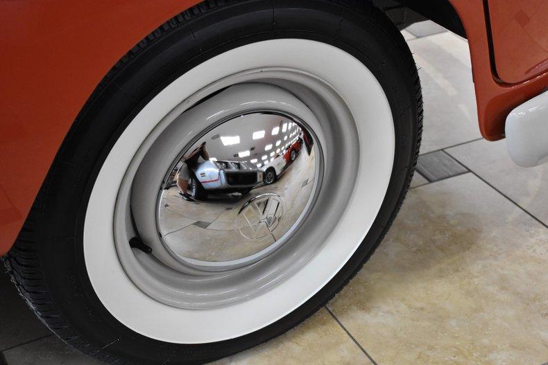 1964 volkswagen type 2 samba 21 window